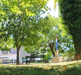 pogled na park